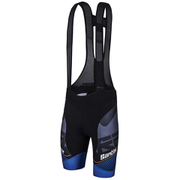 Santini Interactive 3.0 Bib Shorts - Black/Blue