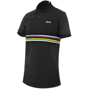 Santini UCI Polo Shirt - Black