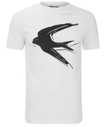 McQ Alexander McQueen Men's Big Swallow Crew T-Shirt - White