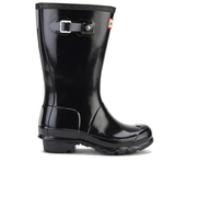 Hunter Kids' Original Gloss Wellies - Black