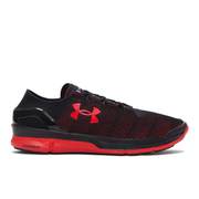 Under Armour Men's SpeedForm Turbulence Running Shoes - Black/Red