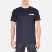 Carhartt Men's Short Sleeve College Script T-Shirt - Blue