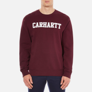 Carhartt Men's College Sweatshirt - Chianti/White
