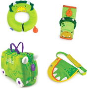 Trunki Trunkisaurus Rex Bundle - Green
