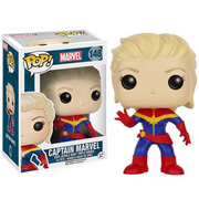 Marvel Unmasked Captain Marvel Funko Pop! Figur