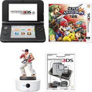 Nintendo 3DS XL Black + Super Smash Bros. for Nintendo 3DS Pack