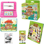 Nintendo 3DS XL Pink + Animal Crossing: Happy Home Designer Pack