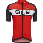 Alé Excel Criterium Short Sleeve Jersey - Red