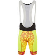 Alé PRR Bubbles Bib Shorts - Yellow/Orange