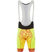 Alé PRR Bubbles Bib Shorts - Yellow/Orange