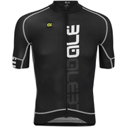 Alé PRR Nominal Short Sleeve Jersey - Black/White