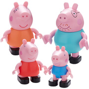 Peppa Pig Construction: Family Figure Pack