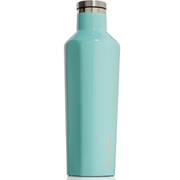 Corkcicle Canteen Triple Insulated Flask 16 oz - Gloss Turquoise