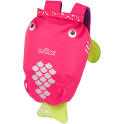 Trunki PaddlePak Coral the Tropical Fish Backpack - Medium - Pink
