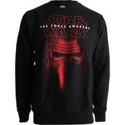 Star Wars Mens Kylo Ren Mask Sweatshirt - Zwart