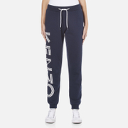 KENZO Women's Side Logo Joggers - Ink