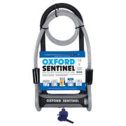 Oxford Sentinel Plus U-Lock and Cable Lock