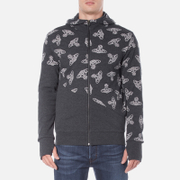Vivienne Westwood Anglomania Men's Time Machine Hoody - Black Heather