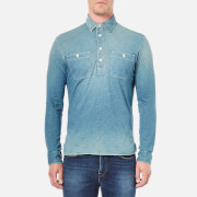 Polo Ralph Lauren Men's Long Sleeve Work Shirt - Blue