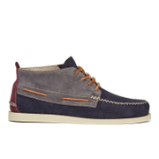Sperry Men's A/O 2-Eye Wedge Suede Chukka Boots - Dark Grey