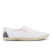 Superdry Men's Deckhand Slip On Trainers - White Mesh