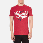 Superdry Men's Rebel T-Shirt - Rich Scarlet