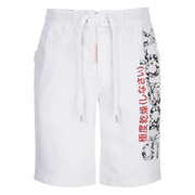 Superdry Men's Boardshorts - Surf White Print