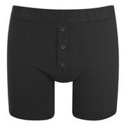 Levi's Men's Long Button Boxers - Black