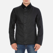 Barbour X Steve McQueen Men's Sandford Wax Jacket - Navy