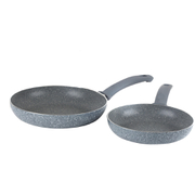 Russell Hobbs Stone Collection 20 and 24cm Frying Pan Set Daybreak