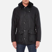 Barbour Heritage Men's Beatock Wax Jacket - Navy