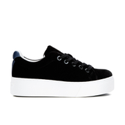 KENZO Women's K-Lace Platform Low Top Trainers - Black
