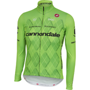 Castelli Cannondale Pro Cycling Team Thermal Long Sleeve Jersey - Green