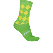 Castelli Cannondale Pro Cycling Team Wool Socks - Green