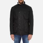 Barbour International Men's Crank Wax Jacket - Black