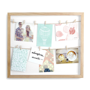 Umbra Clothesline Photo Display Frame - Natural