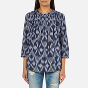 Maison Scotch Women's Pleated Top - Multi