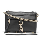 Rebecca Minkoff Women's Mini Mac Cross Body Bag - Black/Light Gold