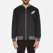 Billionaire Boys Club Men's Team Varsity Jacket - Black/Grey