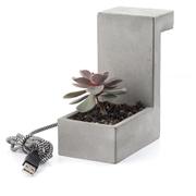 Concrete Desk Blok Lamp
