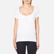 Polo Ralph Lauren Women's Scoop Neck T-Shirt - White
