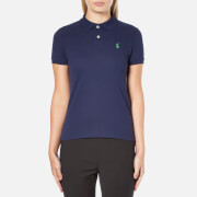 Polo Ralph Lauren Women's Skinny Fit Polo Shirt - Navy
