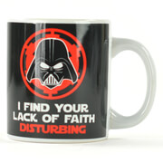 Lack of Faith Star Wars Mug