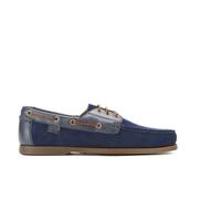 Polo Ralph Lauren Men's Bienne II Suede Boat Shoes - Newport Navy/Newport Navy