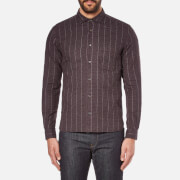 YMC Men's Curtis Shirt - Burgundy