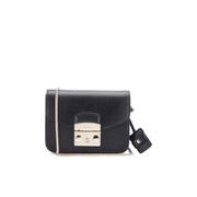 Furla Women's Metropolis Mini Crossbody Bag - Black