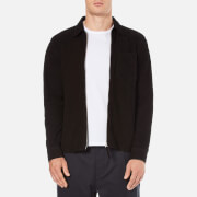 Our Legacy Men's Suede Zip Shirt - Black
