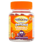 Haliborange Kids Vitamin C Immune Softies - 30 Blackcurrant Fruit Shapes