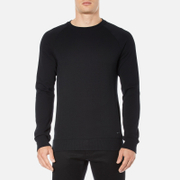 BOSS Orange Men's Wheel Crew Neck Sweatshirt - Black