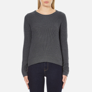 Vero Moda Women's Lex Long Sleeve Jumper - Asphalt
